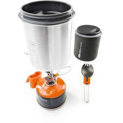 GSI Glacier Stainless Minimalist Solo Cookset