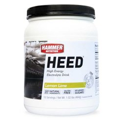 Hammer Nutrition Heed - Lemon Lime - 16 Servings (464g)
