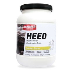 Hammer Nutrition Heed - Lemon Lime - 32 Servings (928g)