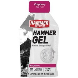 Hammer Nutrition Hammer Gel - Raspberry - Single Serving (33g)