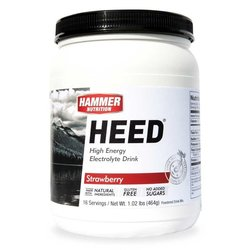Hammer Nutrition Heed - Strawberry - 16 Servings (464g)
