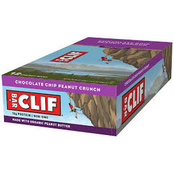 Clif CLIF BAR - Chocolate Chip Peanut Crunch (68g) - Box of 12