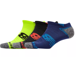 New Balance° No Show Run Socks - Men's