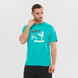 Salomon Outlife Graphic Disrupted Tee - Men's