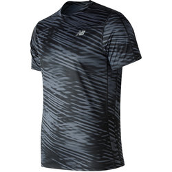 New Balance° Printed Accelerate Short Sleeve - Men's