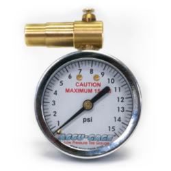 Accu-Gage Bicycle Pressure Gauge