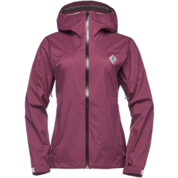 Black Diamond Stormline Stretch Rain Shell Jacket - Women's