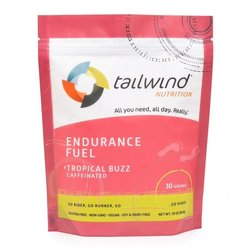 Tailwind Caffeinated Endurance Fuel - Tropical Buzz - 30 Servings (810g)