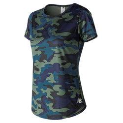 New Balance° Printed Accelerate Short Sleeve v2 - Women's