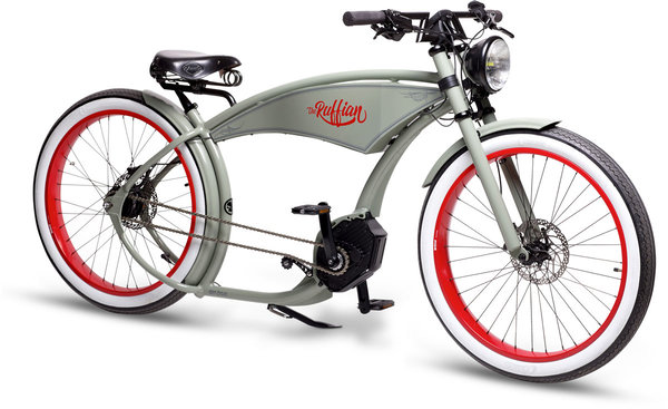Ruff Cycles The Ruffian Color: Cement Grey