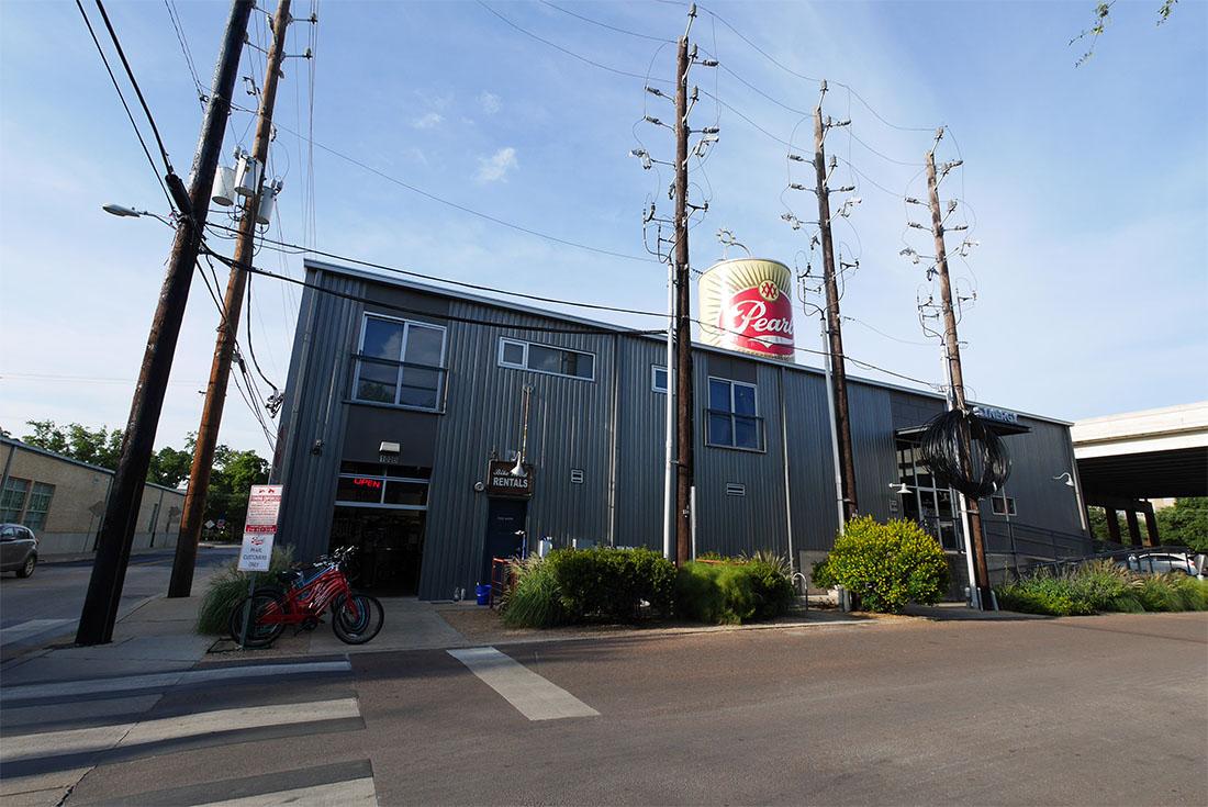 Bike World Bike Shop at Pearl Brewery