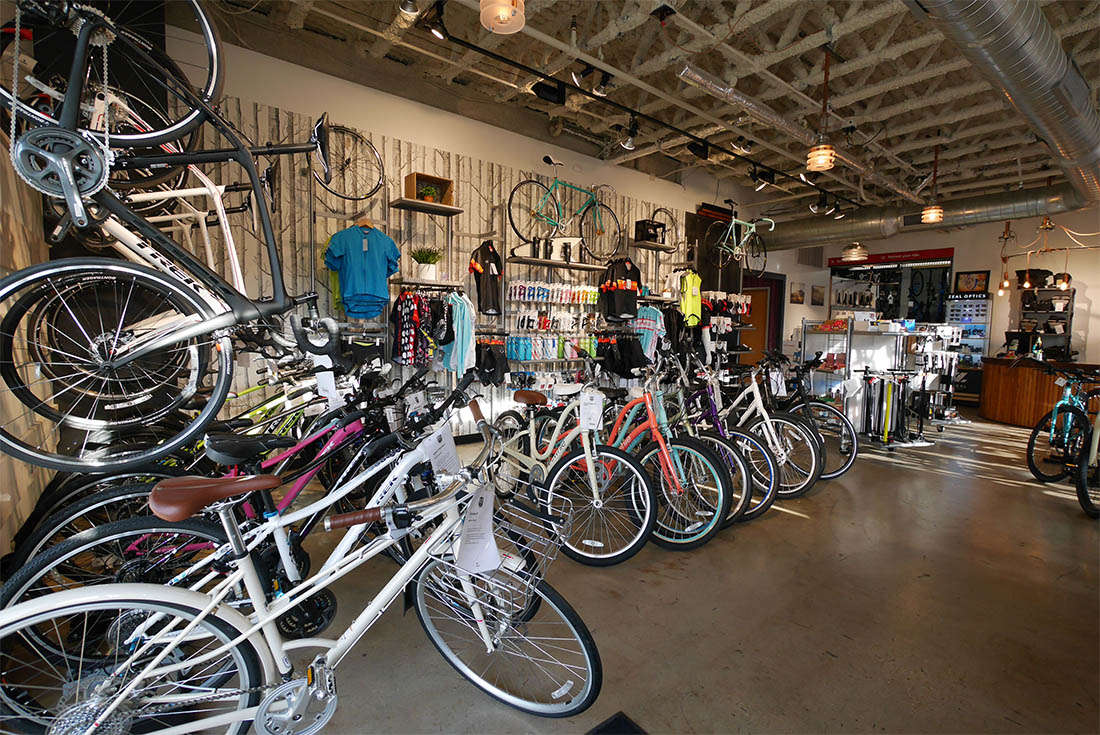 Bike World Pearl is an authorized Trek and Electra bicycle dealer