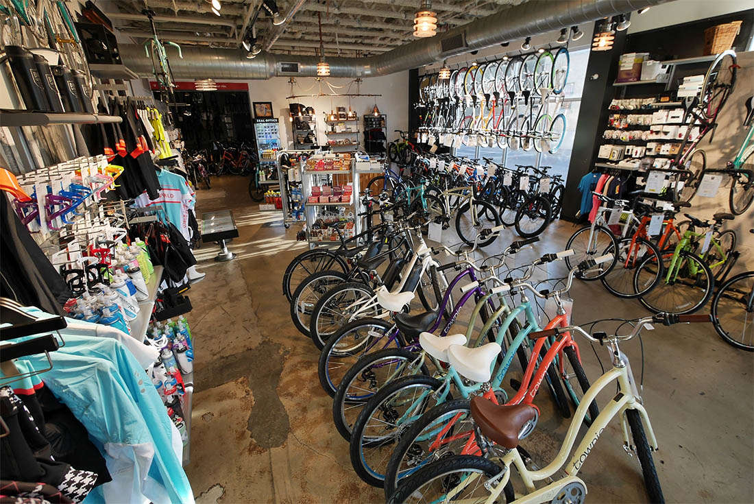 Bike World Pearl Full Service Bike Shop that offers Bike Rentals