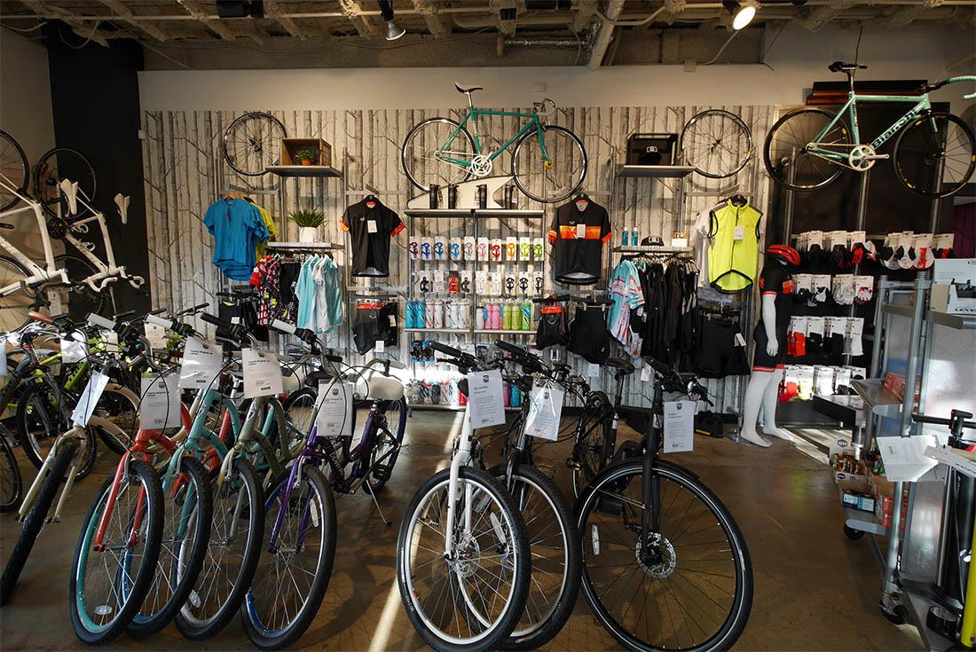 Bike World Rentals at Pearl Brewery