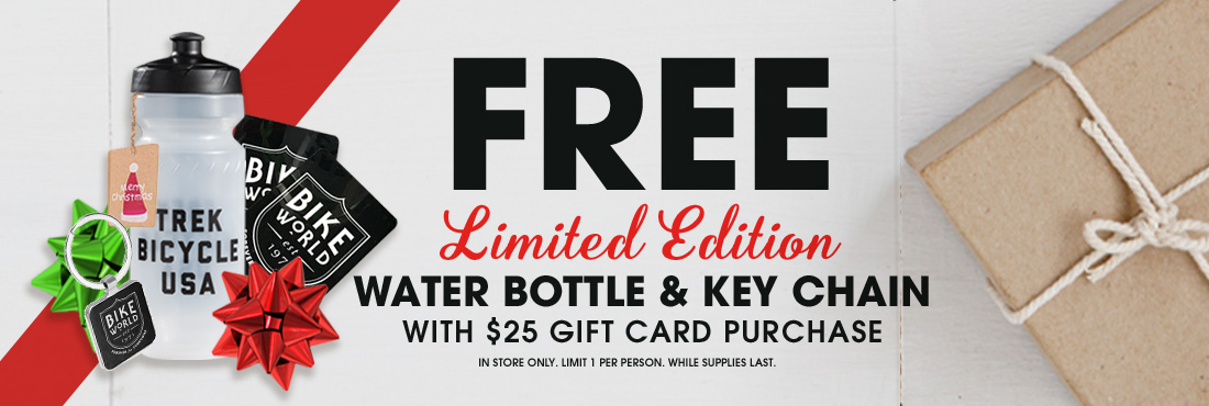Bike World Holiday Gift Card Promo