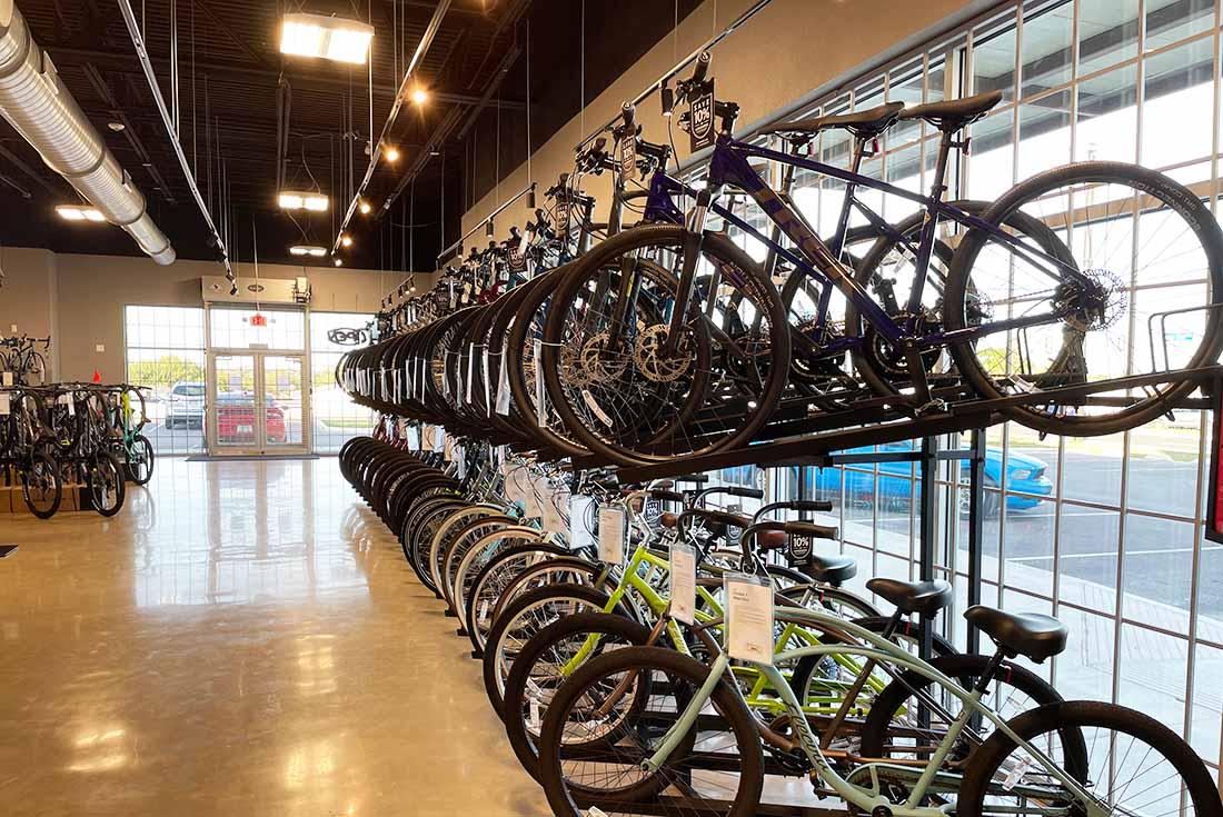 Bike World West Showroom - Trek road bikes, Mountain bikes, road bikes, hybrid bikes, trail bikes