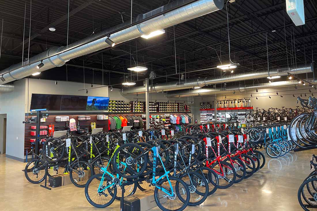 Bike World West Showroom - Trek & Electra bicycles