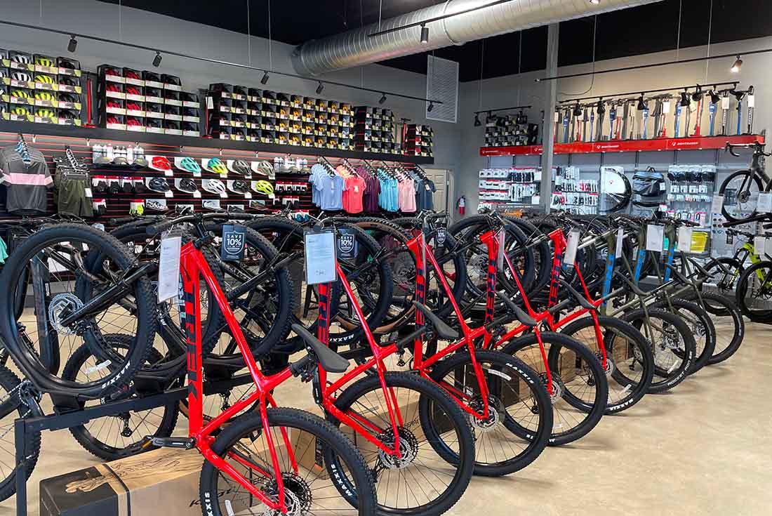 Bike World West Showroom - Trek Road bikes, Mountain Bikes, Hybrid Bikes, Electra Cruisers
