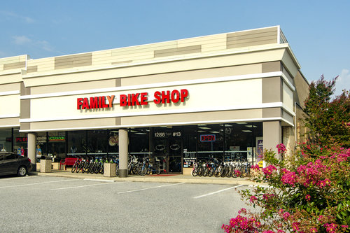 Family Bike Shop store front