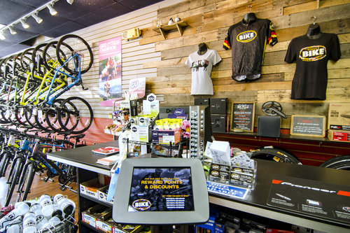 Inside Family Bike Shop