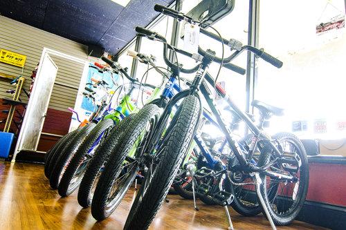 Bikes at Family Bike Shop