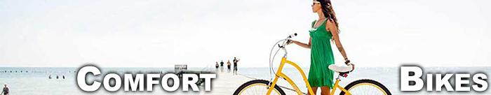 Get comfy on a Comfort Bike from Bike Habitat!