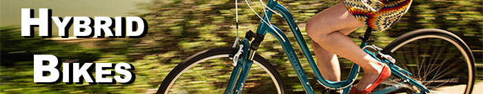 We have an awesome selction of Hybrid Bikes!