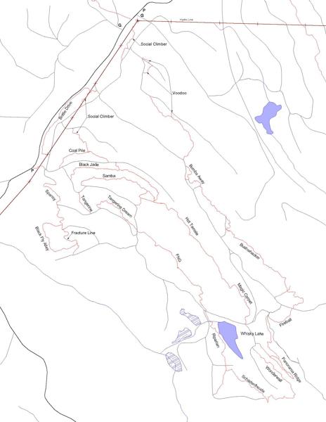 Ridgerunner Area