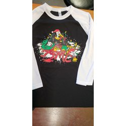 Arrowsmith Bikes Arrowsmith Holiday Baseball T-shirt