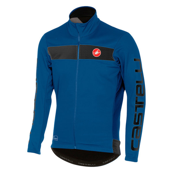 Castelli Raddoppia jacket Color: Ceramic Blue