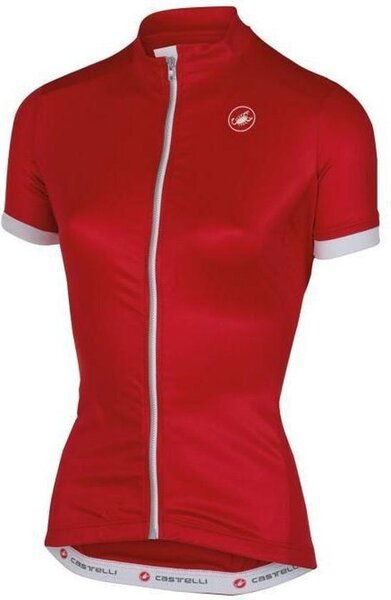 Castelli Anima SS Jersey - Women's Color: Red