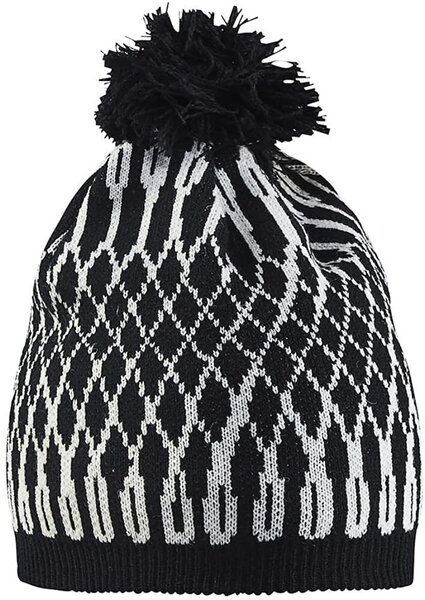 Craft Snowflake Hat Color: Black/White