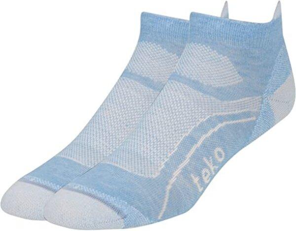 Teko Light Low Socks Della Blue Small - Women's