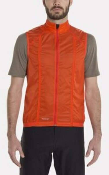 Giro Wind Vest Color: Glowing Red