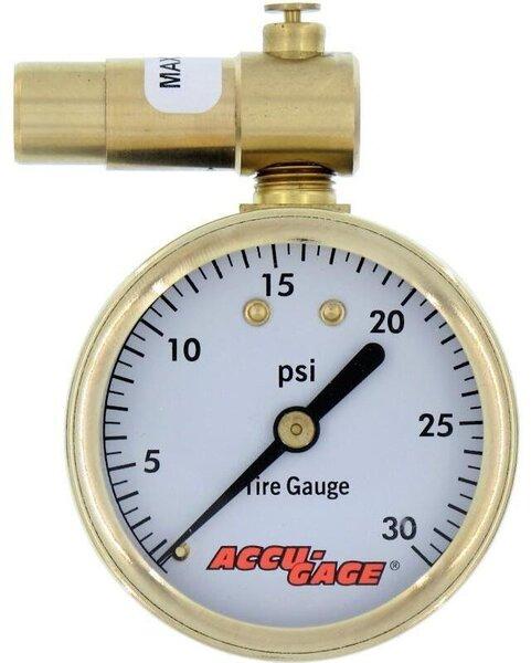 Meiser Accu-Gage Presta 30PSI Gauge