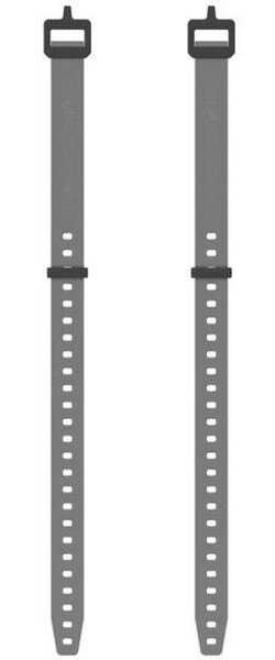 OneUp Components EDC Gear Strap, Grey - Pair