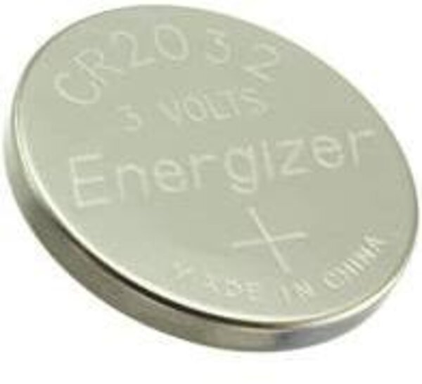 Energizer CR2032 Coin Battery for electronics