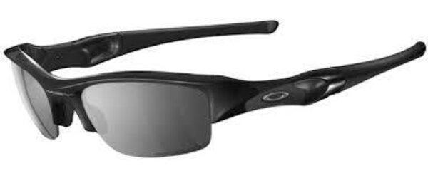 Oakley Flak Jacket Black Iridium Polarized