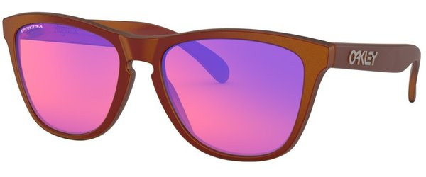 Oakley Frogskins Red with Prizm Trail