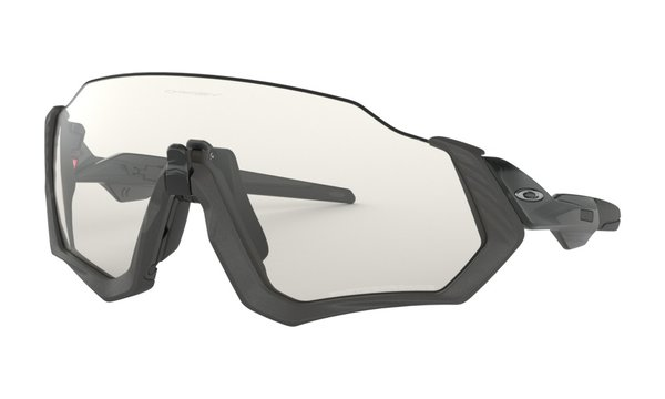 Oakley Flight Jacket Clear Black Photochromic