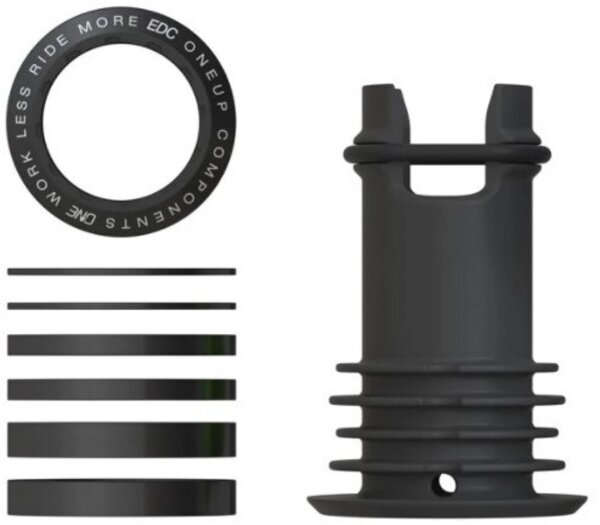 OneUp Components EDC Top Cap Color: Black