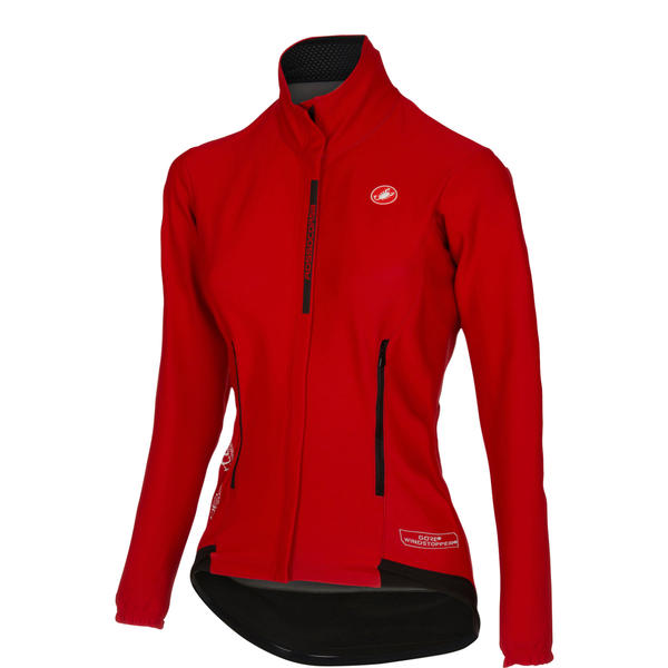 Castelli Perfetto W jacket Color: Red