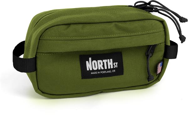NORTH ST Pioneer 9 Handlebar Pack - Olive Green