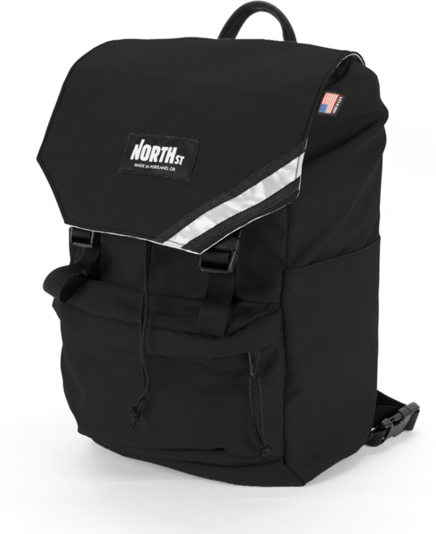 NORTH ST Morrison Backpack Pannier Color: Black