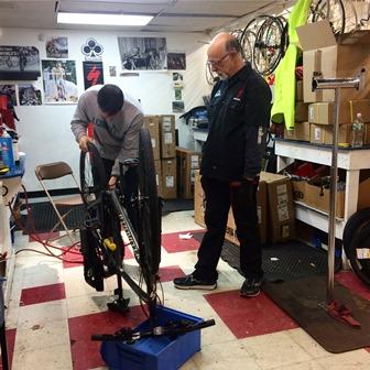 park tool repair class