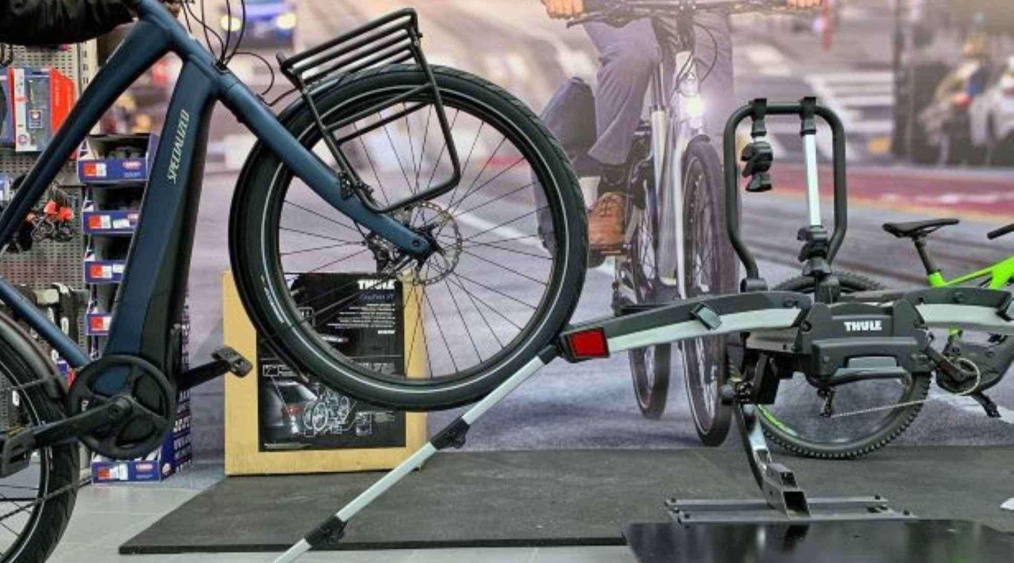 e-bike specific bike racks