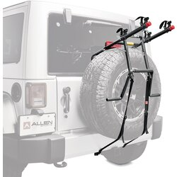 Allen 322DN 2-Bike Spare Tire Rack w/Tie Down For JL-WRANGLER