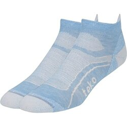 Teko Light Low Socks Della Blue Small - Women's