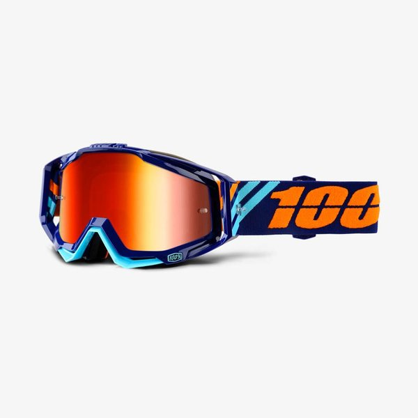 100% RACECRAFT Goggles Color: Calculus Navy