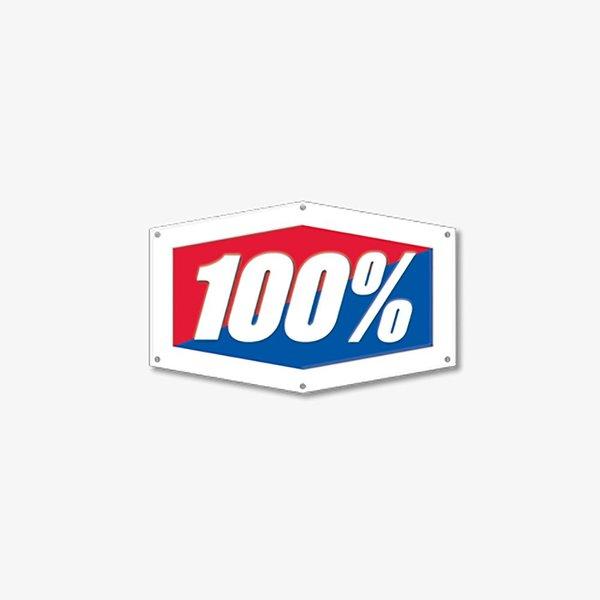 100% Metal Sign